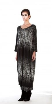 Yiannis Karitsiotis and Soft White Print Dress