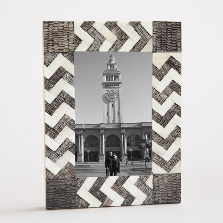Simbra Zigzag Frames | World Market $14.99