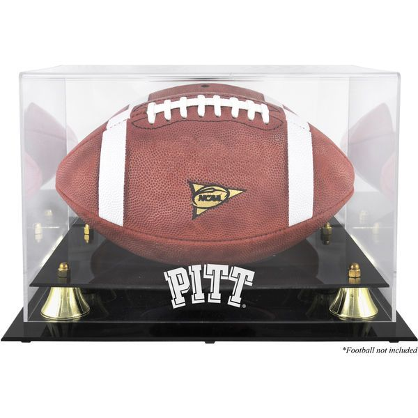 Pittsburgh Panthers Fanatics Authentic Golden Classic Team Logo Football Display Case with Mirror Back - $69.99