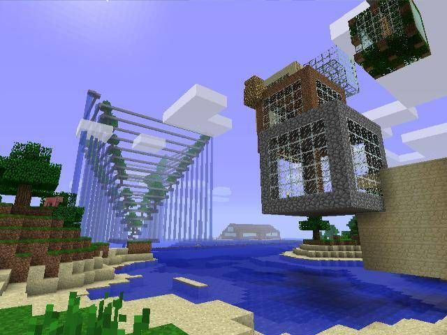 Minecraft house ideas xbox 360 minecraft xbox 360 for Modern house xbox minecraft