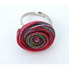 Gyűrű - Spirál kollekció - 0207