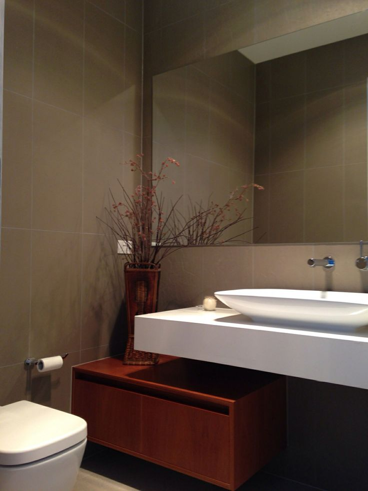 Residential Job: Geelong West//  Basin, tapware, toilet & tiles supplied by The Tile People Geelong