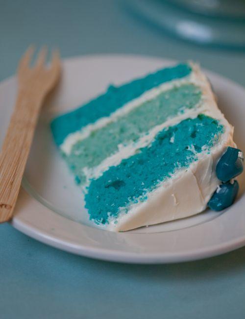 Blue Cakes Recipes Youll Love On Pinterest Beautiful Cake - Blue cake birthday