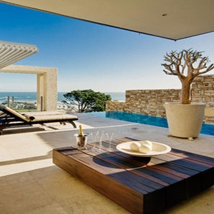 Ultra Modern House On A Hillside Just Above The Coast Road In Bantry Bay    Cape