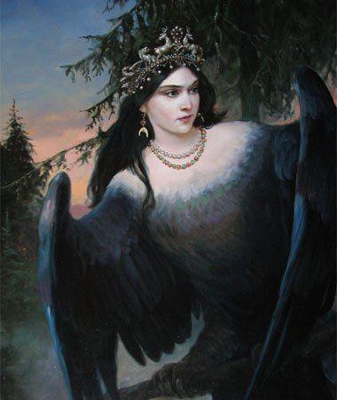 Сирин Птица Вещая / Sirin Bird Prophetic