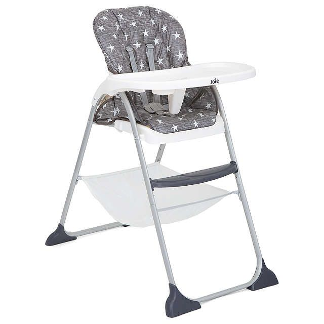 Joie Baby Mimzy Snacker Highchair, Twinkle Linen at John Lewis