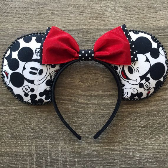 Faces of Mickey Ears Mickey Mouse Ears Disney by TheAnchoredEar