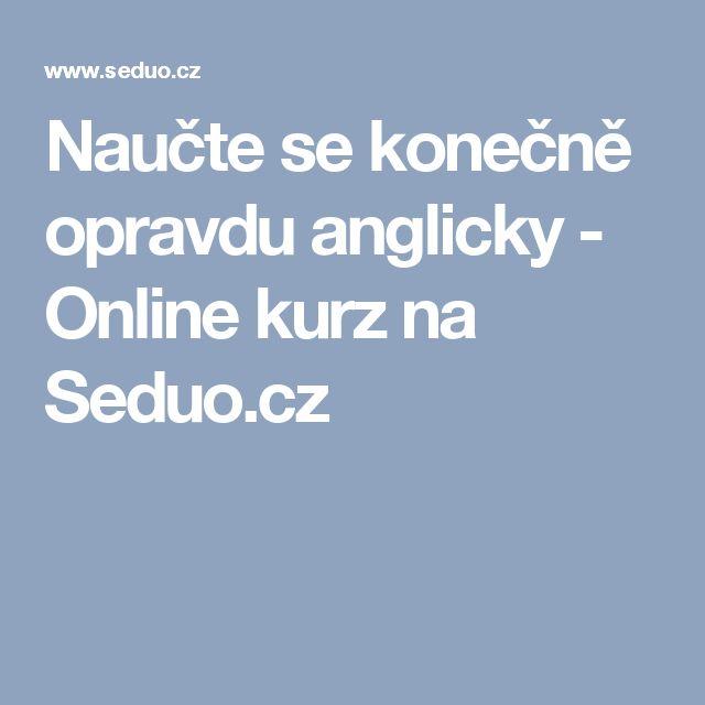 Naučte se konečně opravdu anglicky             - Online kurz na Seduo.cz