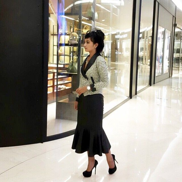 This urban outfit is one of my fav... you can grab them all at swanstwenty... my sheen watch is present by CASIO.. this black highheels also present by Amante... very comfy and even you can dance very well with that haha