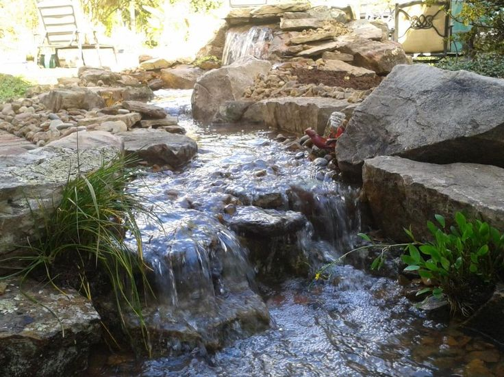 Backyard Hill Waterfall : 1000+ images about pondless waterfall for the back hill on Pinterest