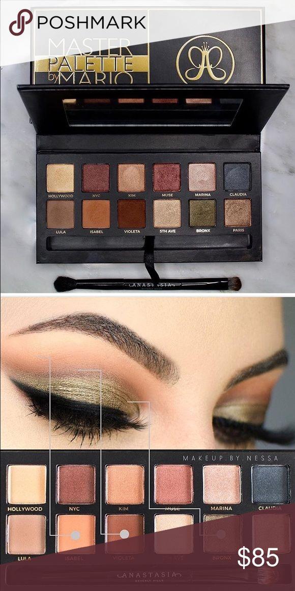 Anastasia Beverly Hills Mater Palette Makeup By Mario Master Palette Anastasia Beverly Hills Makeup Eyeshadow