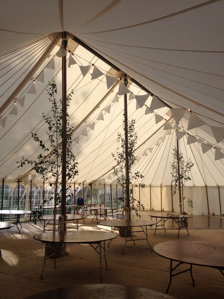 Country wedding using Hannah Watchorn fabric for the bunting