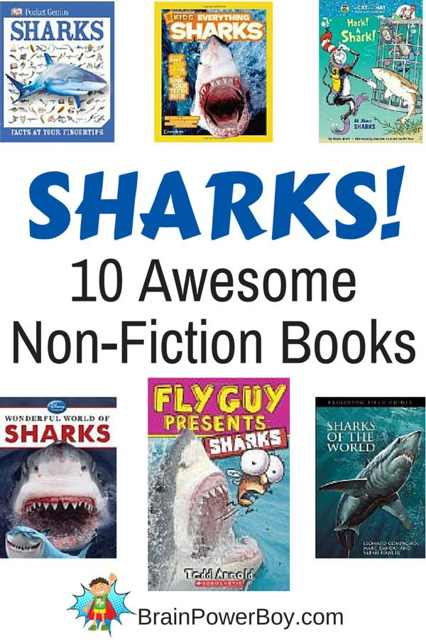 12 Awesome Non-Fiction Shark Books
