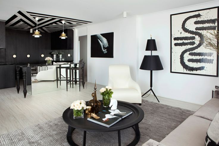 The Obi coffee table by Linteloo featured in the Marne Parade Apartment by James Dawson Interiors which has been shortlisted in the Australi...
