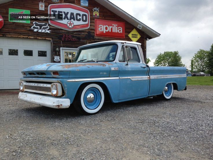 1965 chevy truck | 1965 Chevy C10 Pickup Rat Rod Truck C-10 photo 1