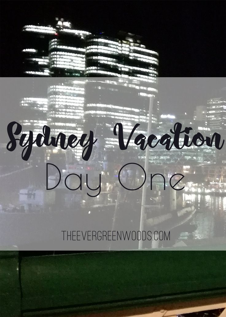 Our Sydney adventure begins! Come on over and take a look at our very first day on our amazing holiday in Australia!