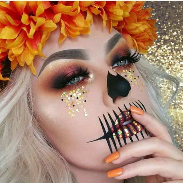 @jess_blends that blending of the eye shadow though AngelaOhler #udmhalloween #undiscovered_muasundiscovered_muas
