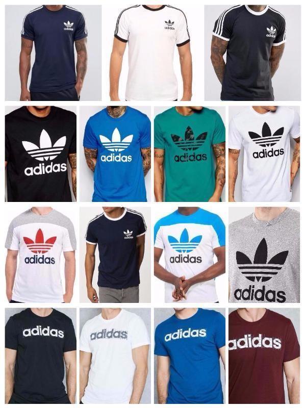 4a04caba Adidas Originals Mens California Retro Essentials Crew Neck Short Sleeve T- Shirt | Clothes, Shoes & Accessories, Men's Clothing, T-Shirts | eBay!