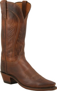 Lucchese (Lu-K-C) makes AMAZING boots!  they have great arch support, break in after 10 minutes, and the leather is super soft.  LOVE LOVE LOVE!  do youself a favor- bite the bullet and go get yourself a pair!
