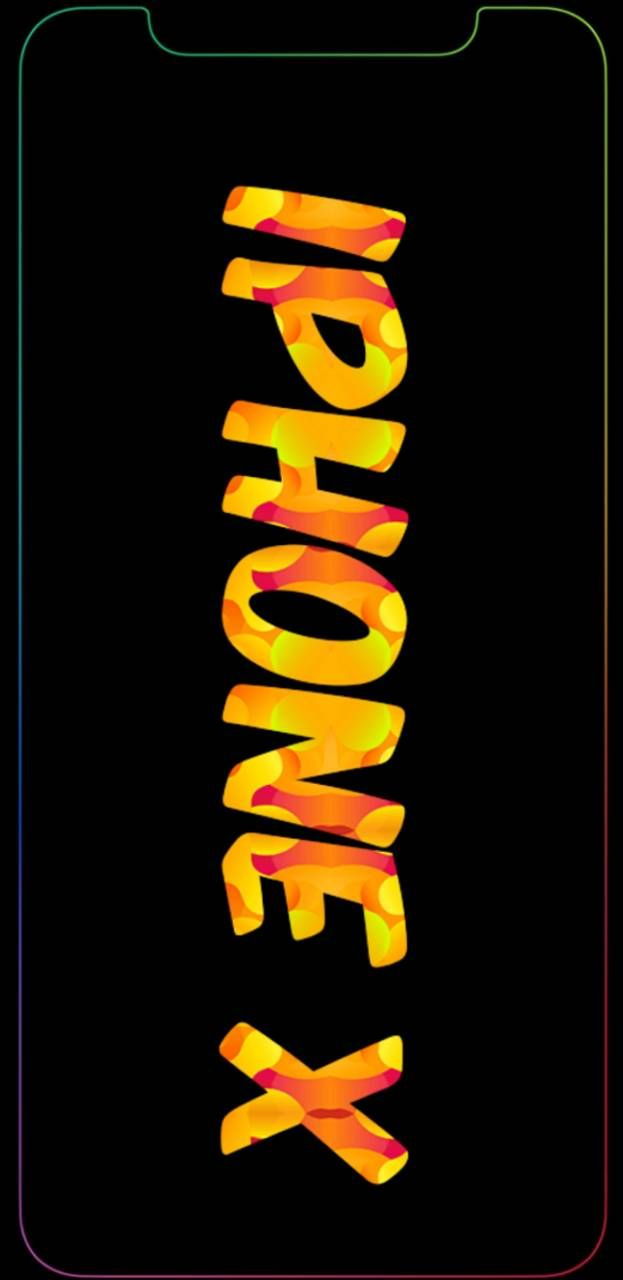 Iphone X Fire Wallpaper Iphone Wallpaper Neon Signs