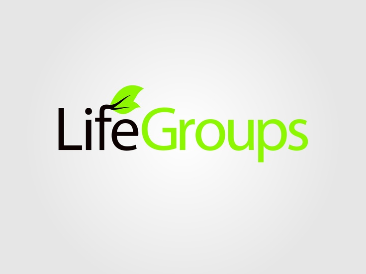 The secondary logo for Life Groups at Lighthouse Community Church