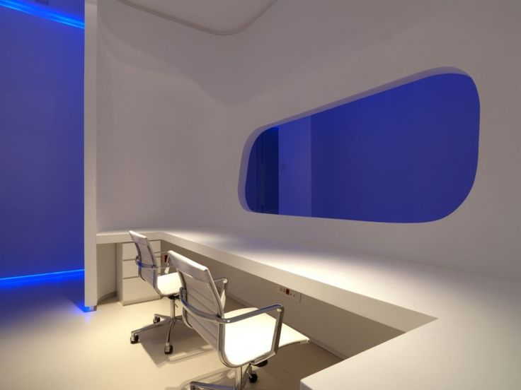 Office Design : Modern And Luxury Office Interior Design: Hidrosalud  Headquarters Spain.