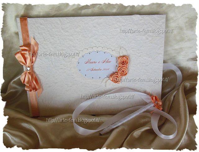 Il Blog di Artefem: Guestbook color albicocca