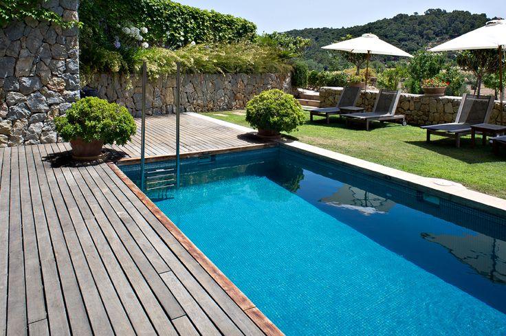 The Son Brull #Hotel & #Spa Swimming #Pool in #Mallorca www.mediteranique.com/hotels-spain/mallorca/son-brull-hotel-spa/