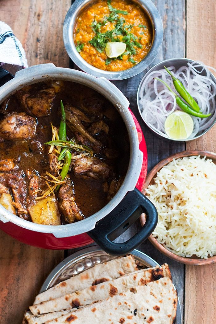 1291 best indian food images on pinterest indian food recipes the best dhaba style chicken curry recipe spicy hot fragrant curry made with ground spices onions and tomatoes and perfect for family lunch or dinner forumfinder Images