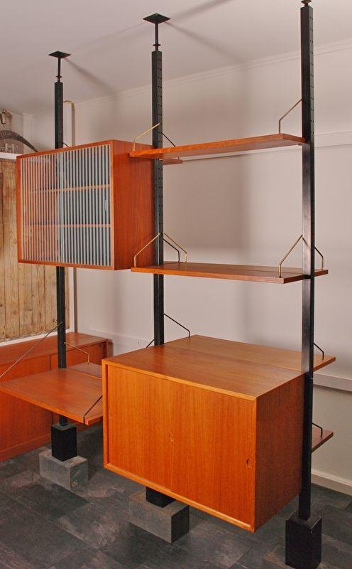 Vintage Roomdivider Cadovius 60u0027s Denemarken Teak Fineer. Scandinavian  InteriorsVintage FurnitureTeakTropicalClassic ...