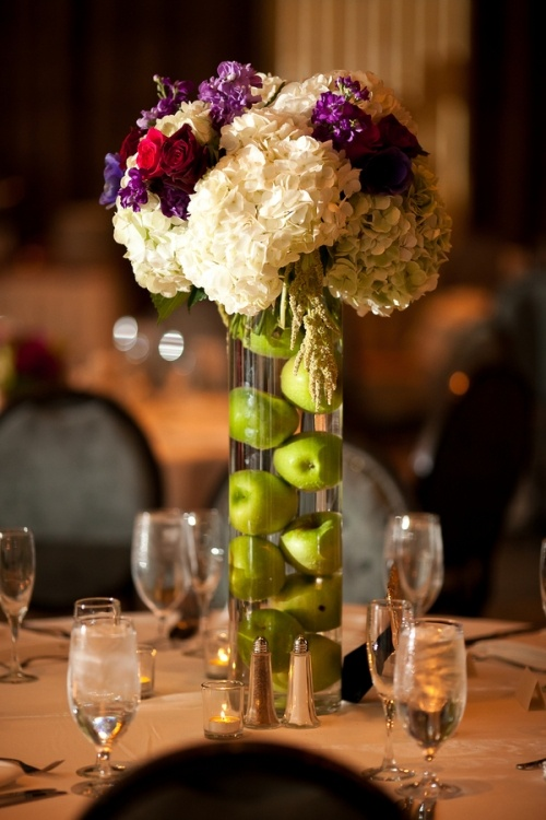 Best images about centerpieces fruit and flowers on