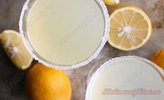 Лимонный коктейль on http://kulinarniyclub.ru Lemon coctail