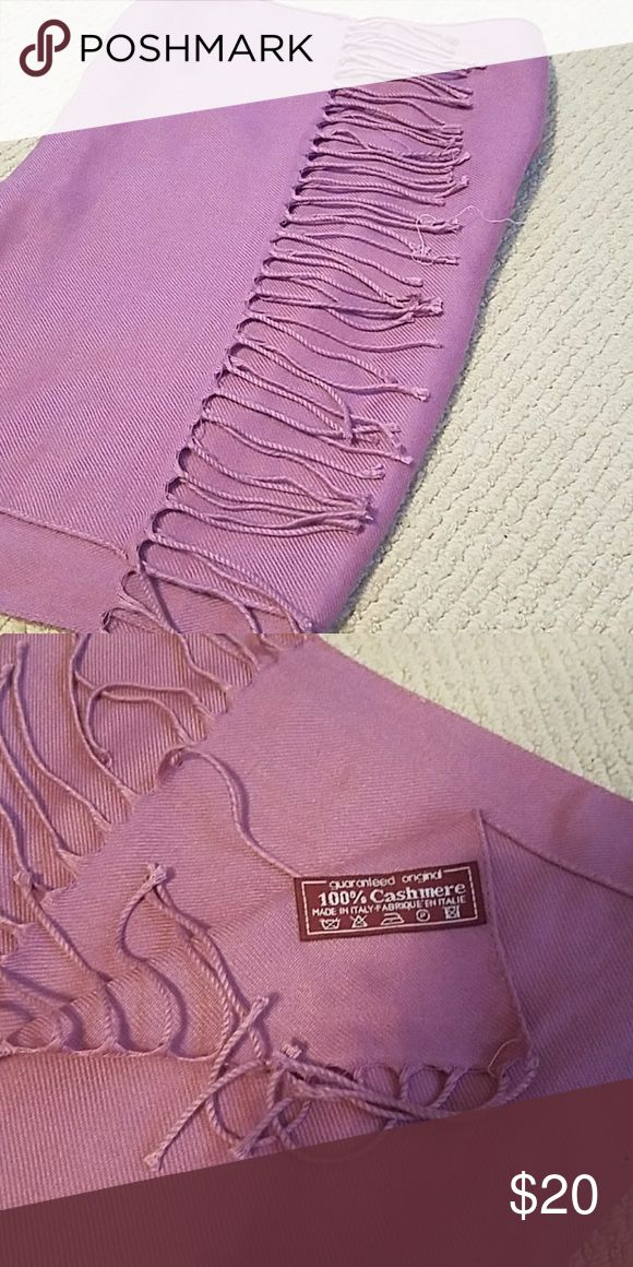 New dusty rose cashmere pashmina Gorgeous dusty rose color cashmere pashmina scarf or shawl. Make an offer, or add to a bundle! Makes a great gift. Accessories Scarves & Wraps