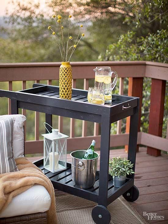 deck storage ideas bhg s best home tips and tricks pinterest rh pinterest com