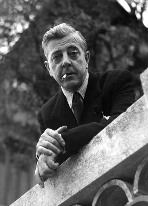 Jacques Prevert (1900-1977) - French poet and screenwriter. Photo Herbert List, Paris