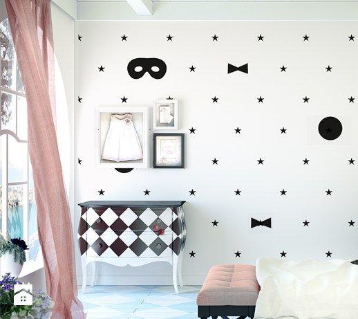 Pokój małej księżniczki - zdjęcie od info@humptydumpty.com.pl wallpaper | ideas | kids room | inspiration | wonderland | scandinavian design | minimalism | magic