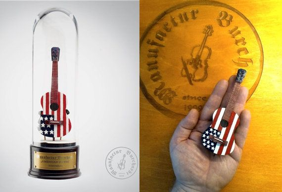 Handmade miniature instrument  American by ManufacturBurchardt