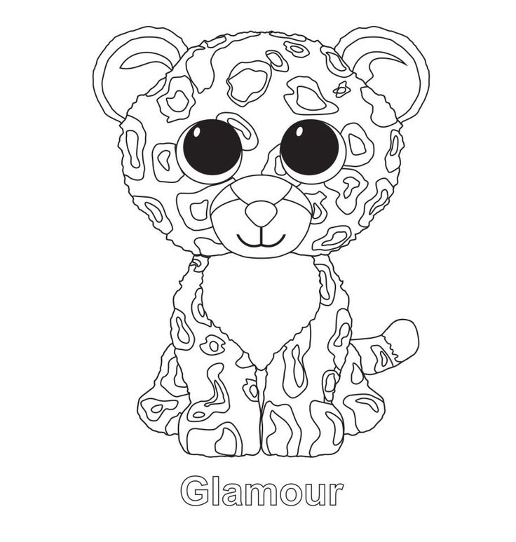 Glamour the Leopard TY Beanie Boo