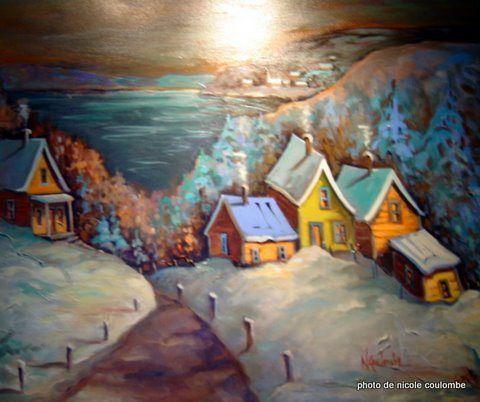 Porte-Folio I de Nicole Coulombe - Artiste en arts visuels, Alma (QC) Canada