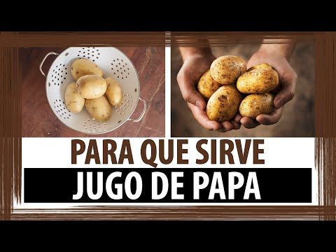 Beneficios de la Cascara de Papa - YouTube