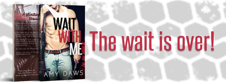 Release Day Blitz   Review: Wait with me by Amy Daws