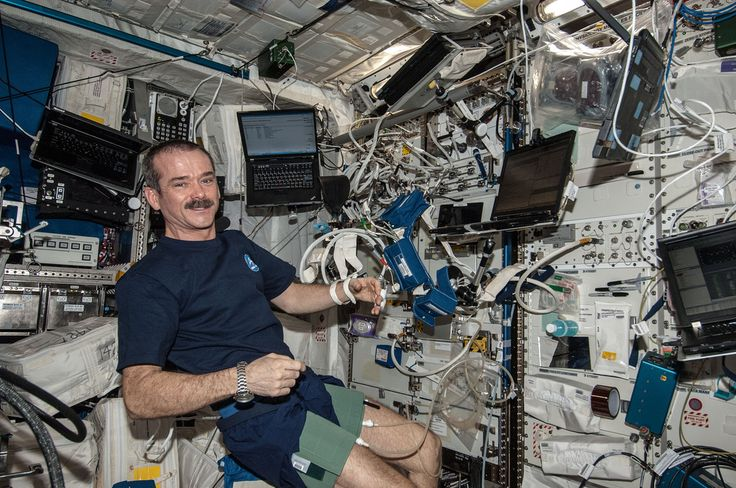 10 Inspiring Life Lessons from Astronaut Chris Hadfield?ref=pinp nn Chris Hadfield is an amazing human being. He commanded the International Space Station. He used YouTube to teach us about life in orbit. He used Twitter to give us a new perspective on our planet. He did that viral cover of Bowie's Space Oddity. Then he came home. He wrote a book called An...