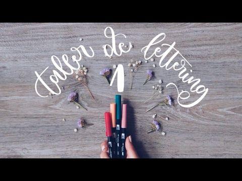 Tecnica Lettering 1/3 (Mini) Taller  de Lettering Online: Materiales y la regla de oro | TheFlowerJournal