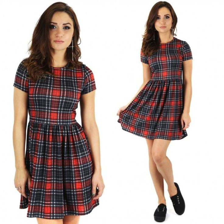 Our new Tartan Tie Back Tee Dress £10.00 is a hot favourite, get in quick before they march out the door!