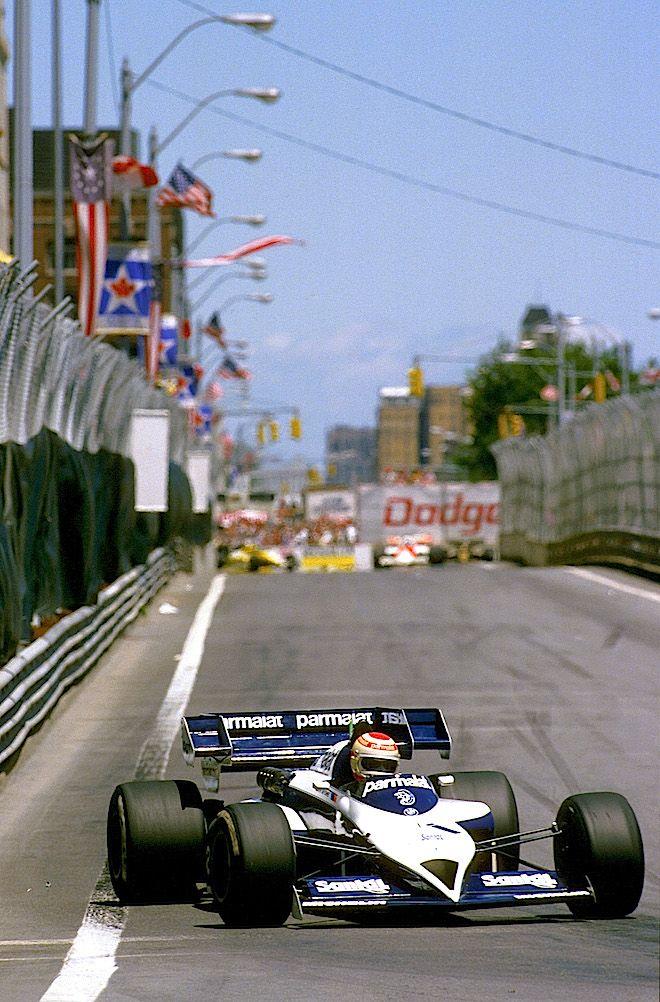 Nelson Piquet ... RETRO: F1 in Detroit. RACER.com