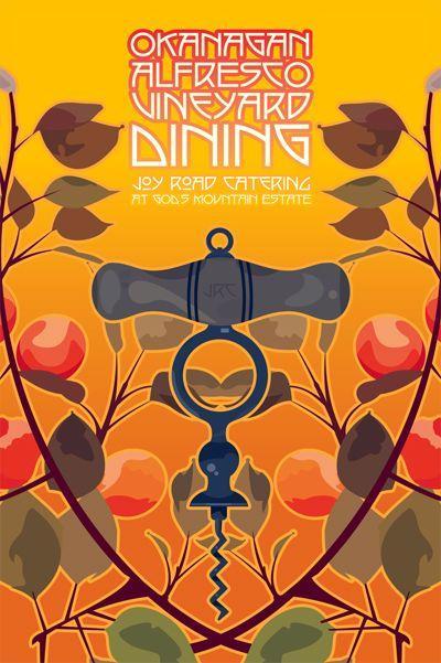 Kelowna wine poster