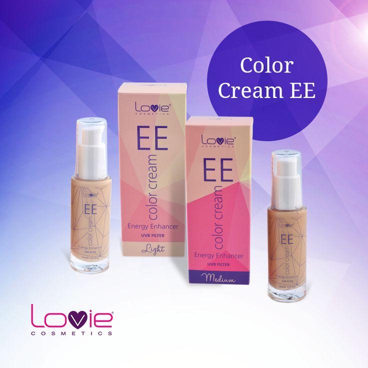 "EE color cream ""Energy Enhancer"": Ενυδατική κρέμα προσώπου με χρώμα εμπλουτισμένη με δραστικά συστατικά που αναζωογονούν, επαναδομούν, ενυδατώνουν και χαρίζουν ενέργεια στην επιδερμίδα. Καλύπτει τις ατέλειες και χαρίζει ομοιόμορφο τόνο και φωτεινότητα. http://www.lovie.gr/make-up-lovie/EE-color-cream #lovie #cosmetics #color #cream"