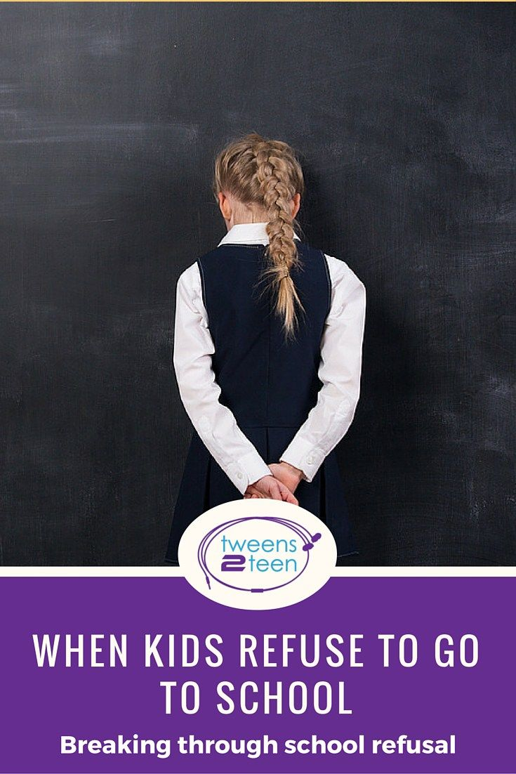 Having a child that refuses to go to school can be very challenging for parents. Here's some tips to turn that around.