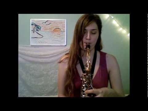 PARADISE - Coldplay (sax / accordion / flute cover by Anna Pillsbury)