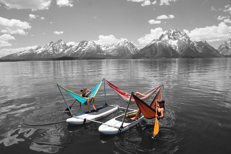 Expected delivery date: April 2017 The Hammocraft floats on rivers, rapids, ocean swell and slow rivers. This Kit is built on paddle boards, enabling you to enj